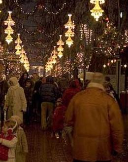 tivoli köpenhamn jul
